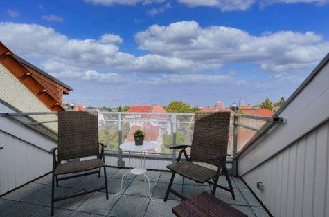 Und über Ihnen nur der Himmel! – 3 Zi. Maisosonette DG Wohnung im beliebten Bahnhofsviertel!, 18055 Rostock, Dachgeschosswohnung